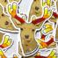 Red Reishi Antlers (Ganoderma lucidum) on Deer